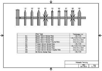 Rolled fencingn pales pdf